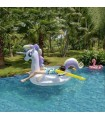 Crystal unicorn pool float
