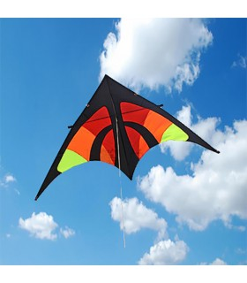 Orange fighter Delta Kite