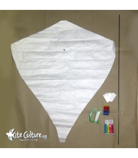 Diy Tyvek Build a Diamond Kite Kit