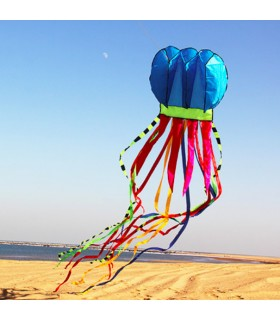 Jellyfish Soft Kite Blue
