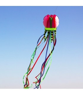 Jellyfish Soft Kite Pink