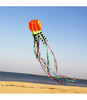 Jellyfish Soft Kite Orange