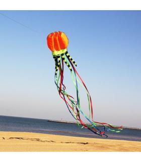 Jellyfish Soft Kite Orange