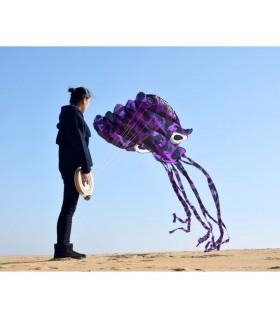5m Camo Soft Octopus Purple