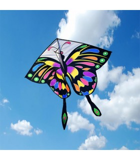 Rainbow Butterfly Kite