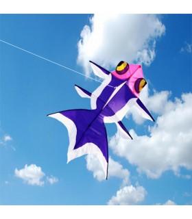 Goldfish Kite Purple (High Quality)