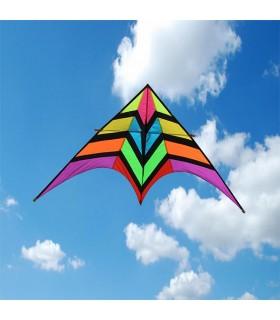 2m Rainbow Fighter Delta Kite