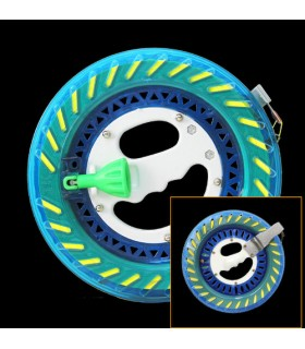 22cm Reel Crystal Blue with 400m 80lbs line