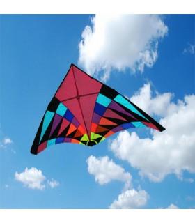 2.8m Giant Pink Rider Delta Kite